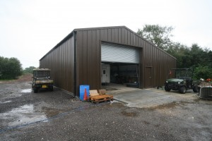 Industrial Steel Framed Buildings