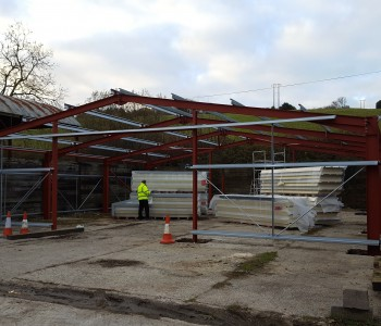 Steel Framed Building | Dorset