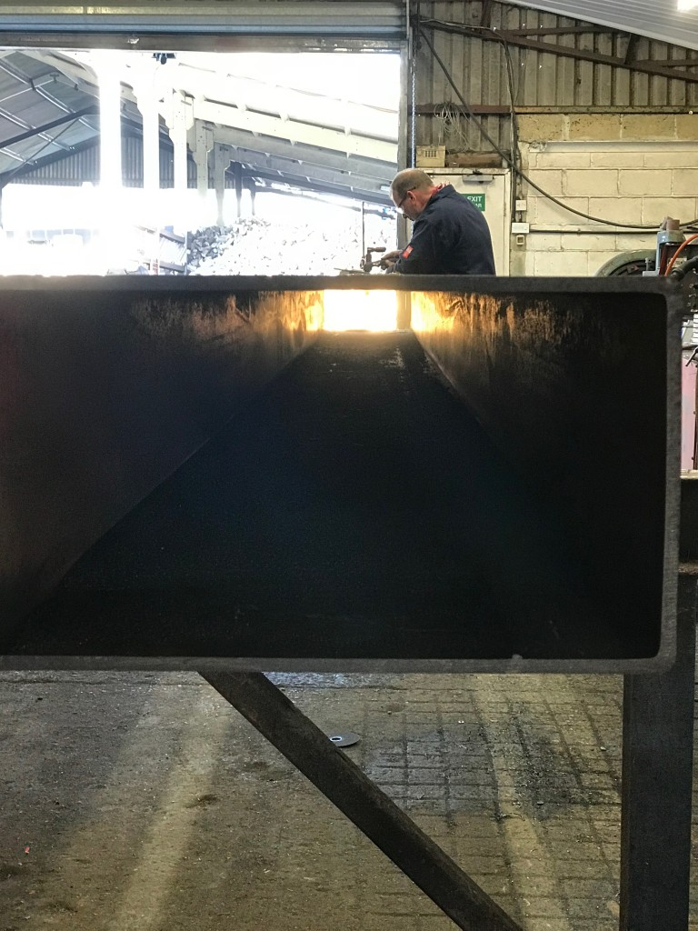 Welding in hollow section
