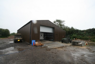 Industrial Steel Garages in Bournemouth