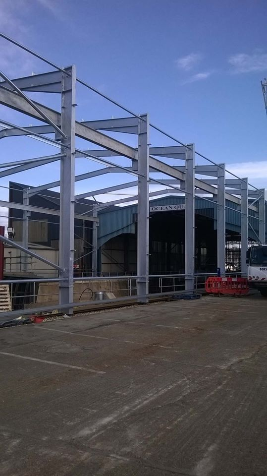 Steel Frame Fabrication Dorset